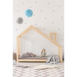 Domečková postel z borovicového dřeva Adeko Mila DMS,70x160cm