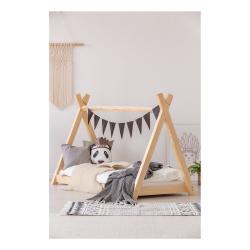 Domečková postel z borovicového dřeva Adeko Mila TP,80x140cm