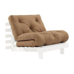 Variabilní křeslo Karup Design Roots White/Mocca