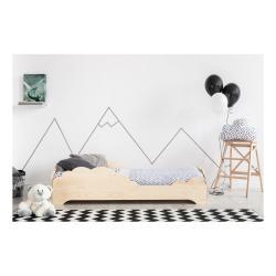 Dětská postel z borovicového dřeva Adeko BOX 9, 90x160 cm