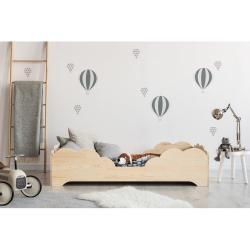 Dětská postel z borovicového dřeva Adeko BOX 10, 70x160 cm