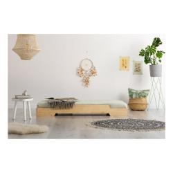 Dětská postel z borovicového dřeva Adeko BOX 8, 90 x200 cm