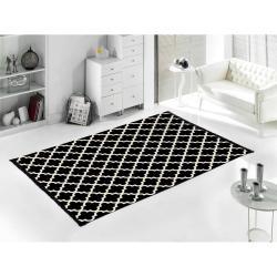 Černo-bílý oboustranný koberec Madalyon, 120x180cm