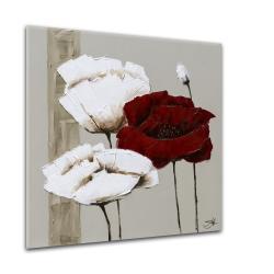 Obraz Styler Glasspik Flower June, 20 x 20 cm