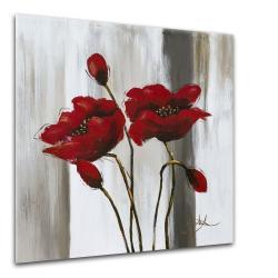 Obraz Styler Glasspik Poppy Flower, 20 x 20 cm