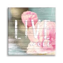 Obraz Styler Canvas Dreams Live, 32 x 32 cm