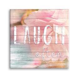 Obraz Styler Canvas Dreams Laugh, 32 x 32 cm