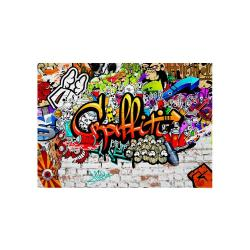 Velkoformátová tapeta Bimago Colourful Graffiti, 300x210cm