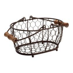 Kovový košík T&G Woodware Provence,20x14cm