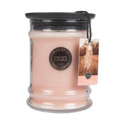 Svíčka ve skleněné dóze s vůní měsíčku a pomeranče Bridgewater candle Company Wanderlust, doba hoření 65-85 hodin