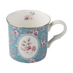 Modrý porcelánový hrnek Creative Tops Ditsy,230ml