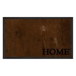 Hnědá rohožka Hanse Home Printy, 45 x 75 cm
