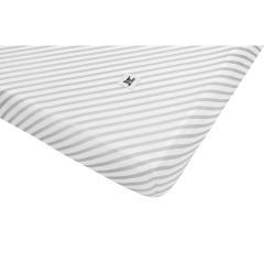 Dětské bavlněné prostěradlo BELLAMY Stripes, 90x200cm