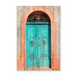 Nástěnná cedule z borovicového dřeva Really Nice Things Door, 40 x 60 cm