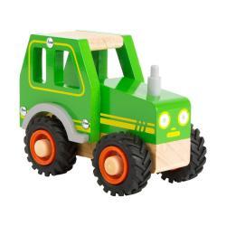 Dětský dřevěný traktor Legler Tractor