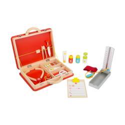 Dětský dřevěný lékařský kufřík Legler Emergency