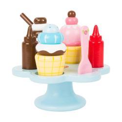 Dětský dřevěný zmrzlinový set Legler Cream Cone