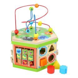 Dřevěná hračka pro rozvoj motoriky Legler Safari