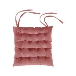 Růžový podsedák Tiseco Home Studio Chairy, 37x37cm