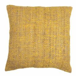 Žlutý povlak na polštář Tiseco Home Studio Chambray, 45x45cm