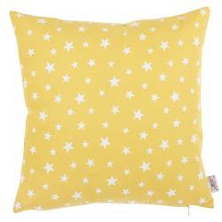 Žlutý bavlněný povlak na polštář Mike&Co.NEWYORK Rujo, 35 x 35 cm