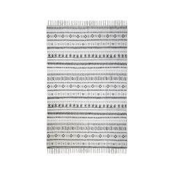 Černobílý bavlněný koberec HSM collection Colorful Living Manio, 120 x 180 cm