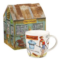 Hrnek z porcelánu Churchill China At Your Leisure The Cyclist, 400ml