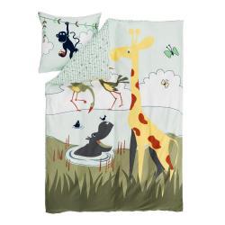 Dětské povlečení Flexa Safari, 140 x 200 cm + 80 x 80 cm