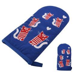 Modrá teflonová rukavice s magnetem Orion Cats