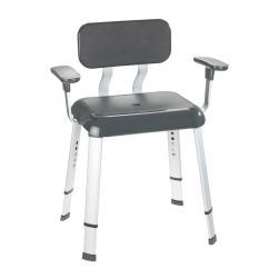 Židle do sprchy s opěradly Wenko Shower Secura Premium