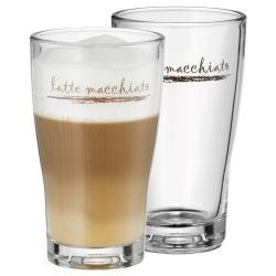 Sada 2 sklenic na Latte Machhiato WMF Barista