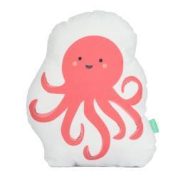 Polštářek z čisté bavlny Happynois Octopus, 40x30 cm