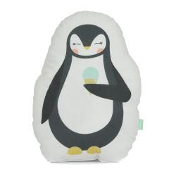 Polštářek z čisté bavlny Happynois Penguin, 40x30 cm