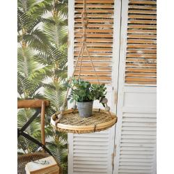 Set 5 závěsných poliček na rostliny Orchidea Milano Summer, ø30cm