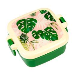 Vzduchotěsný svačinový box Rex London Tropical Palm, 9x7cm