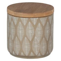 Keramická dóza s víkem z bambusového dřeva Wenko Tupian
