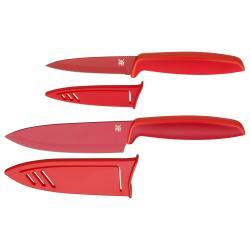 Sada 2 červených nožů s krytem WMF Touch