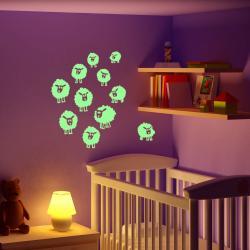 Svítící samolepka Fanastick Sheeps