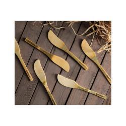 Sada 6 bambusových nožů na máslo Bambum Forre