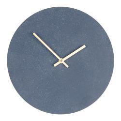 Šedé dřevěné nástěnné hodiny House Nordic Paris, ⌀30cm