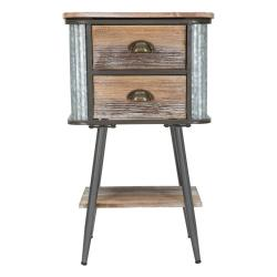 Noční stolek Mauro Ferretti Bronx, výška72,5cm