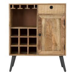 Skříňka z mangového dřeva Mauro Ferretti Belgrado Cellar, šířka75cm