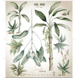 Sada nástěnných samolepek Dekornik Jungle Botanics