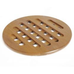 Bambusová podložka pod horké hrnce Bambum Hot Pad, ⌀ 14 cm