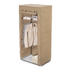 Béžová textilní šatní skříň Compactor Wardrobe, výška147cm