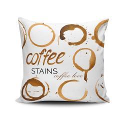 Polštář Coffee Stains, 45x45 cm