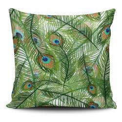 Povlak na polštář s příměsí bavlny Cushion Love Jungle, 45 x 45 cm