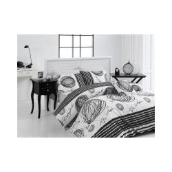 Povlečení z ranforce bavlny na jednolůžko Nazenin Home Kipling, 140x200cm
