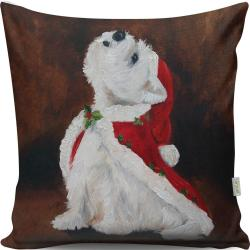 Polštář Christmas Dog, 43x43cm