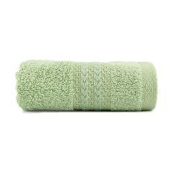 Zelený ručník z čisté bavlny Sunny, 30 x 50 cm